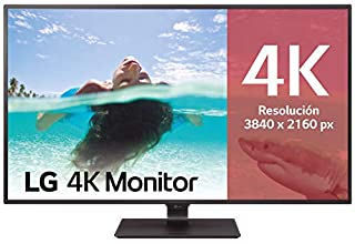 "LG 43UD79-B - Monitor 4K UHD de 108 cm (42,5"") con Panel IPS (3840 x 2160 píxeles, 16:9, 350 cd/m², NTSC >72%, 1000:1, 8 ms, 60 Hz) Color Negro (B01N2AYZBC) 