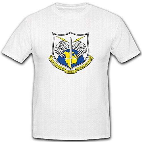 b6cbdd024da Copytec norad – North American Aerospace Defense Command nordamer  ikanisches Aire y espacial Defensa – Camiseta