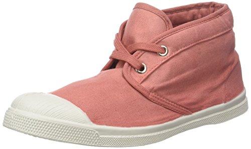Bensimon Damen Tennis New Nils Hohe Sneaker Pink (Vieux Rose)