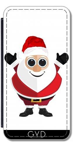 Coque pour Iphone SE - Le Père Noël by Adamzworld Simili-Cuir