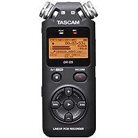 Tascam DR-05 V2 - Dictáfono (HQ, MP3, WAV, 32 - 320 Kbit/s, LCD, Naranja, USB) Plata
