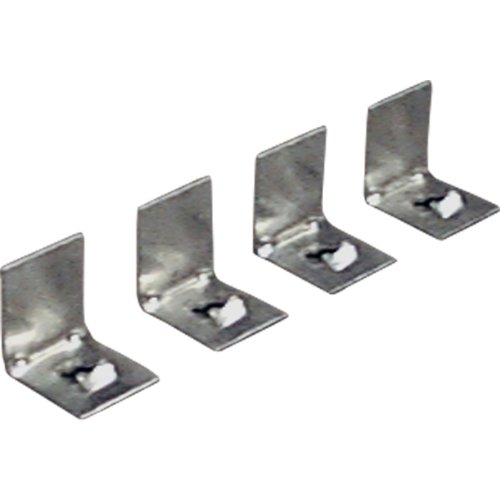 Progress Lighting P8700-01 4 Plaster Frame Clips for Complete Squares and P7211 by Progress Lighting