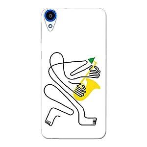 INKIF Printed Designer Mobile Back Cover / Back Case For HTC Desire 820Q
