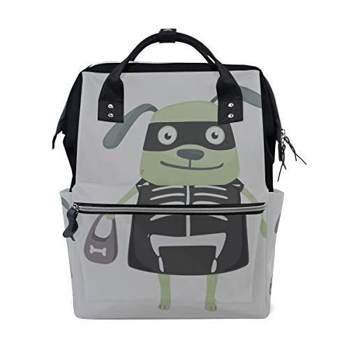 Hund große Kapazität Wickeltaschen Mummy Rucksack Multi Funktionen Wickeltasche Tote Handtasche für Kinder Babypflege Travel Daily Women ()
