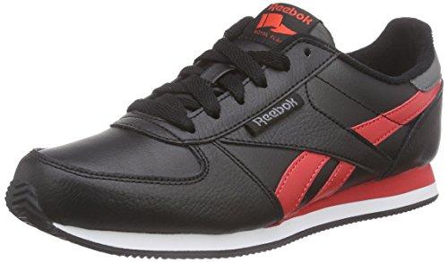 Reebok - Royal Cljogger Ltr, Sneakers da donna Nero (black/poppy red/shark/white/collegiate royal)