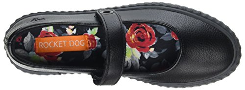 Rocket Dog Damen Godel Sneaker Schwarz (Black)