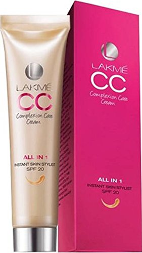 Lakme CC Complexion Care Cream All In One Instant Skin Stylist SPF 20 Beige 30 ml