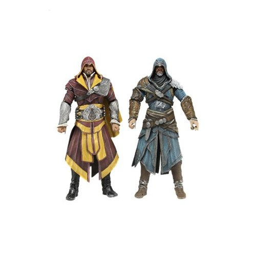 Creed Kind Kostüm Größe Assassins - Action Figur Assassin's Creed 2er Pack Ezio Auditore 18cm