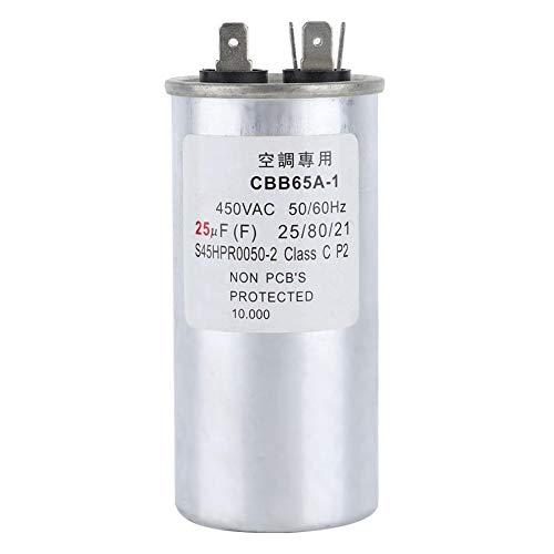 XBaofu, Condensatore di avviamento del compressore del condizionatore d'Aria del condensatore del Motore 25UF