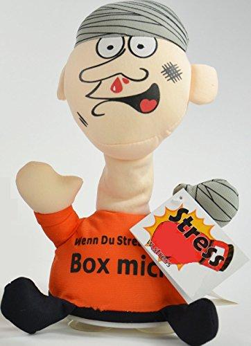 Preisvergleich Produktbild BUSDUGA - Stress-Uwe - Box mich ! Bei jedem Schlag ertönt ein Schrei (ORANGE)