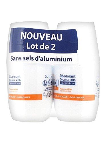 Etiaxil Déodorant Douceur 48H sans Aluminium Lot de 2 x 50 ml Etiaxil