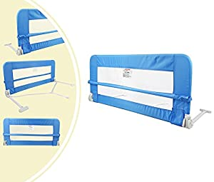 Leogreen - Baby and Toddler Safety Bed Rail, Foldable Baby Bed Gate