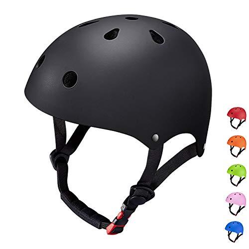 der Helm Fahrradhelm Integralhelm Rollerhelm für Radfahrer Skateboard Scooter Bike Sicherheit Helm ()