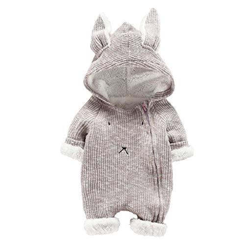 Vicgrey ❤ tutine per neonati, inverno autunno a maniche lunghe pagliaccetto per bambino pagliaccetti neonato coniglio cotone manica lunga caldo romper baby jumpsuits