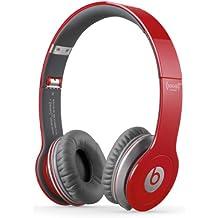 Beats By Dr. Dre Solo HD - Auriculares de diadema abiertos (con micrófono, control remoto integrado), rojo