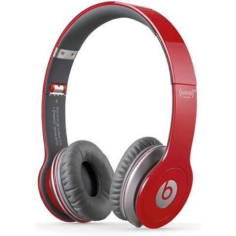 Beats By Dr. Dre Solo HD - Auriculares de diadema abiertos (con micrófono, control remoto integrado),