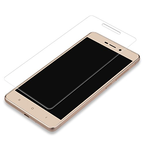 Combo of Transparent Back Cover + Tempered Glass - Xiaomi Redmi 3S 16GB and 3S Prime 32GB - By Shop Buzz (Soft Silicon Back Case and Tempered Glass Screen Protector For Mi Redmi 3 Prime)