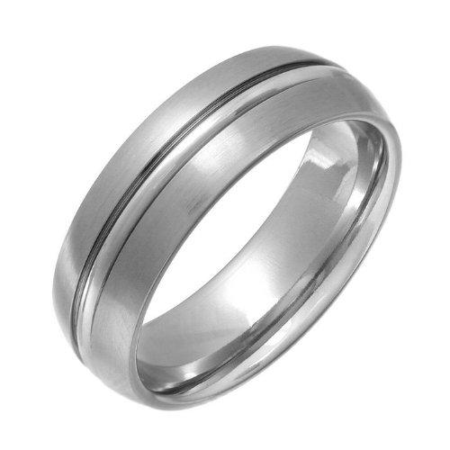 Theia Ring Kobalt Court Matt und Gerillt 7mm - Gr. 59 (18.8) TH3432 Preisvergleich