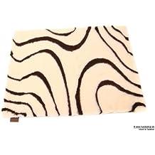 Original Vetbed Isobed SL -Wave- creme/braun 75 x 100 cm