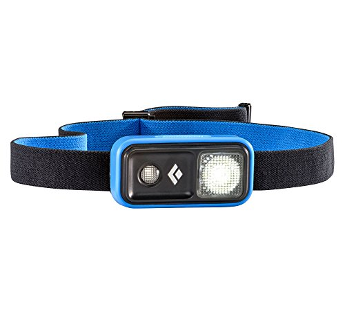 Black Diamond Ion Headlamp Powell Blue / Besonders leichte und kleine Stirnlampe mit Rotlicht und Dimmfunktion / Steuerung per Fingertippen, max. 100 Lumen