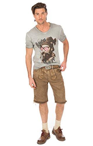 Hangowear Trachtenshirt Beppi Austria Grau, XL - 5
