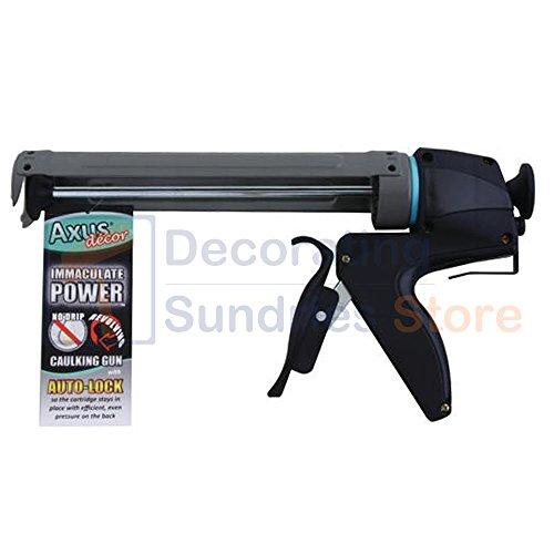 Axus decor AXU/CGI4 - Pistola de calafateo de energía inmaculada, con bloqueo...