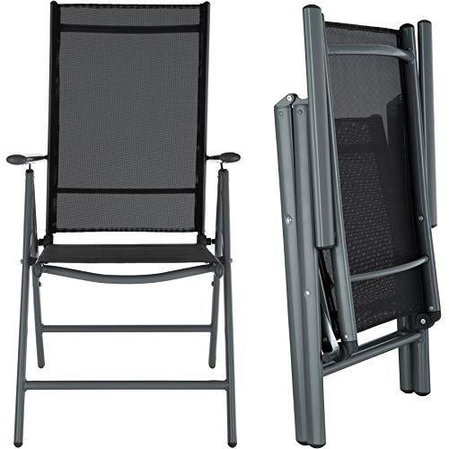 TecTake Aluminium Sitzgarnitur 4+1 - 5