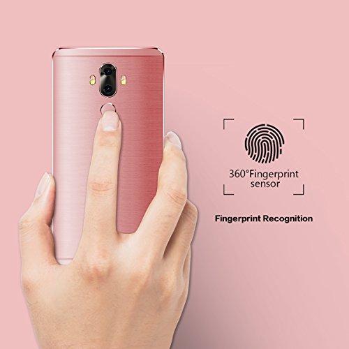 6 Zoll Smartphone Ohne Vertrag,TIMMY M40 4G FDD-LTE,2GB/16GB,Dual Sim Quad Core Android 7.0 Handys Rosa