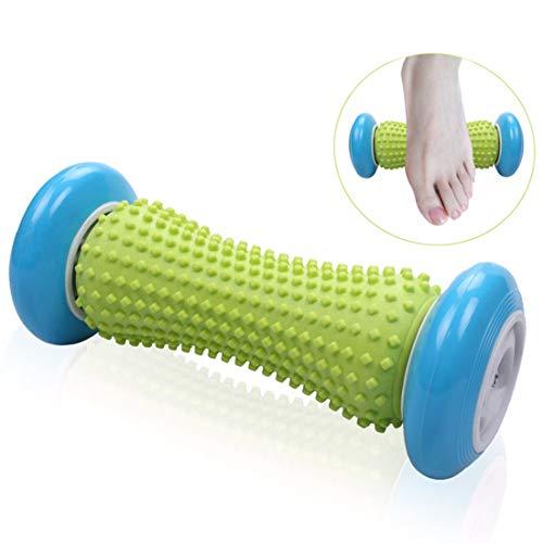 fascia releazer Fußmassagegerät Fußroller, Kleine Faszien-Rolle Fuß Massage Roller Entlastung von Schmerzen und Verspannungen, Muscle Roller Stick (Blau)
