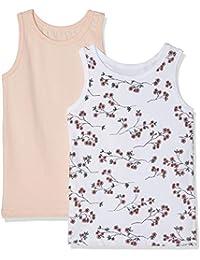 NAME IT Camiseta sin Mangas para Bebés (Pack de 2)