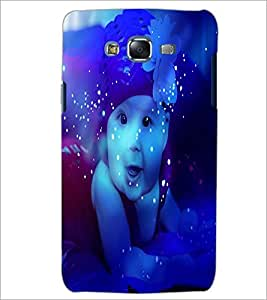 PrintDhaba Cute Baby D-3884 Back Case Cover for SAMSUNG GALAXY ON 7 (Multi-Coloured)