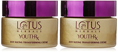 Lotus Herbals Youthrx Anti Ageing Transforming Creme, 50g (Set of 2)