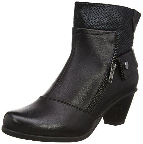 Lotus Women's Sherman Ankle Boots, Black (Black Print), 7 UK 40 EU