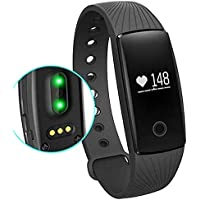 Willful Orologio Fitness Tracker Cardiofrequenzimetro da Polso Smartwatch Donna Uomo Bambini Sport Activity Tracker Pedometro Braccialetto Smart Watch per Samsung Huawei iPhone Android iOS Smartphone