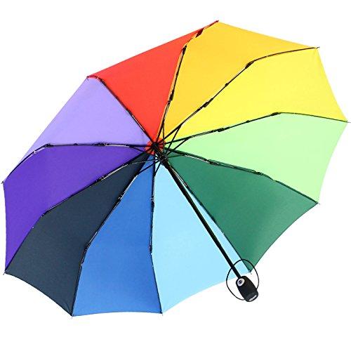 iX-brella strong class - Plegable  multicolor arcoiris 102 cm