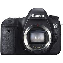 Canon EOS 6D Body Fotocamera Reflex Digitale, 20.2 Megapixel, Nero