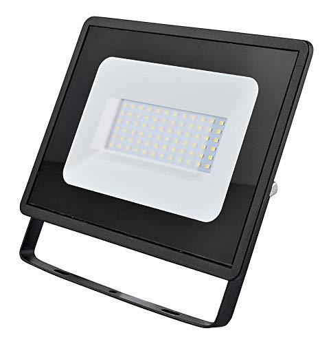 50w LED Flutlicht/Floodlight/Scheinwerfer 4000k - Schwarz (Eveready s13947) -