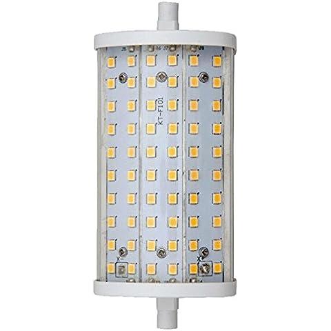 Bombilla Regulable lineal LED R7S J118 15W Luz blanca cálida 3000ºK 1450 Lm.