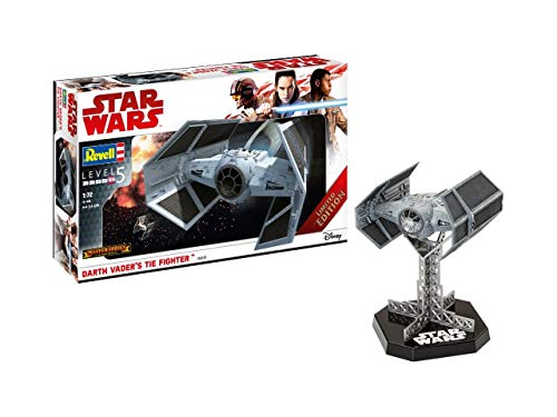 Revell GmbH 06881 Star Wars Darth Vader de la Tie Fighter Modelo Kit, 1: 72 Escala