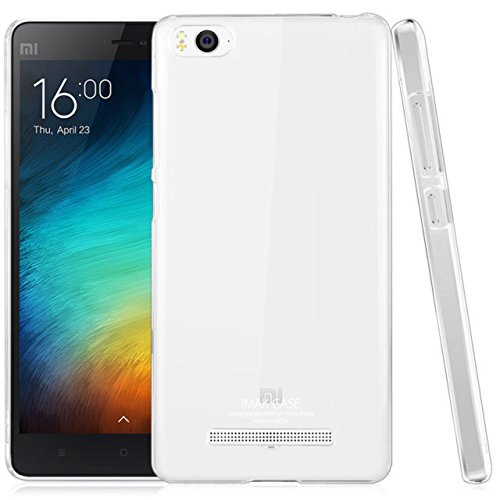 Ininsight solutions Ultra Thin 0.3mm Clear Transparent Flexible Soft TPU Slim Back Case Cover For Xiaomi Mi4i