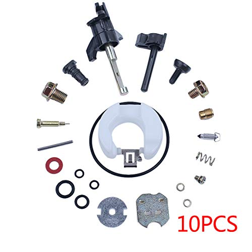 Haishine 10Pcs Vergaser Repair Rebuild Kit für Honda GX160 GX200 GX120 GX 160 200 120 Motor Motor Carb