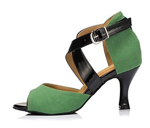 TDA - Peep-Toe donna 7.5cm Heel Green
