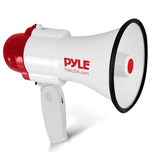 Pyle PA Megafon mit eingebauter Sirene, Aufnahmefunktion (Pro-elite-spieler)