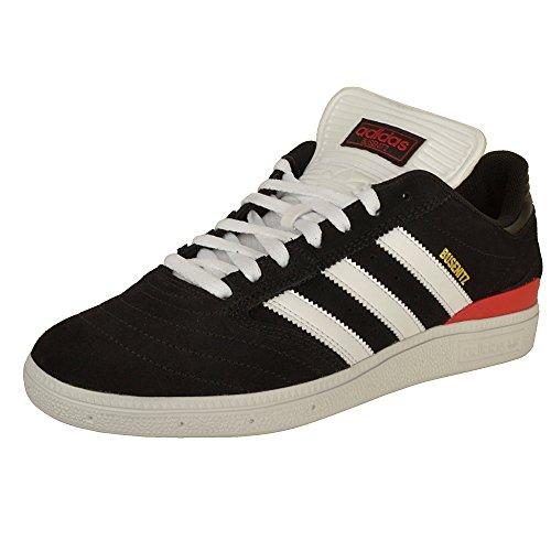adidas Herren Busenitz Pro Skateboardschuhe, Schwarz Cblack/Ftwwht/Scarle, 43 1/3 EU - Adidas Skate