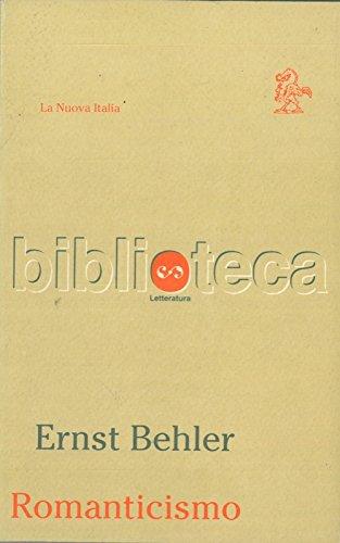 Romanticismo. A. W. E F. Schlegel, Novalis, Wackenroder, Tieck.