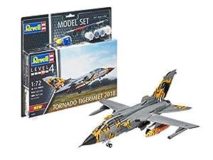 Revell- Model Set Tornado ECR Tigermeet Kit plástico, 1/600 (63880)