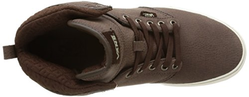 Vans M Atwood Hi Leather, Baskets Basses Homme Marron (Leather/Demitasse/Aluminum)