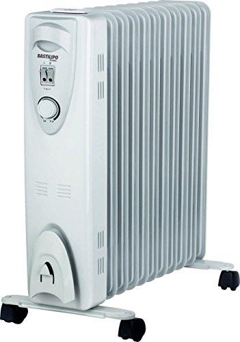 Bastilipo RAC11-2500 Radiador de fluido 2500 W, Otro, Blanco