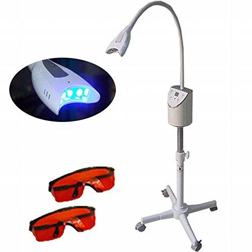 zgood dientes blanqueamiento dental Blanqueamiento Dental LED lámpara de luz decolorar máquina wiht dos gafas