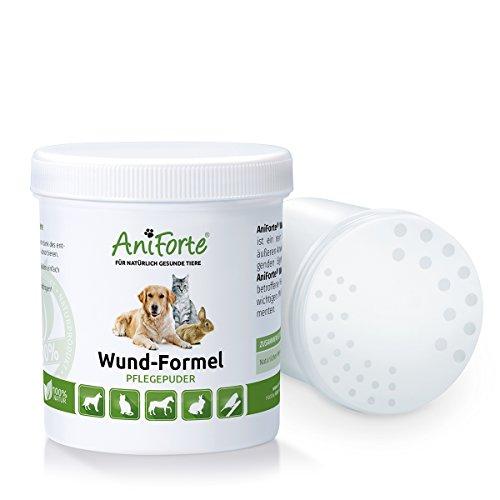 Aniforte Wund Formel Pflegepuder 250 Ml - Naturprodukt Für Tiere